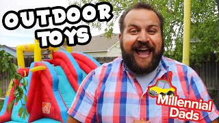 OUTDOOR SUMMER TOYS! | Toy Dad | Millennial Dads
