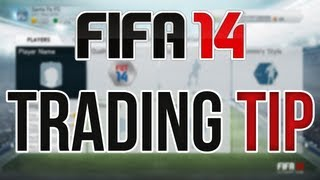 FIFA 14 Ultimate Team Trading Tip - How To Start On The Web App (Trading Methods And More!)