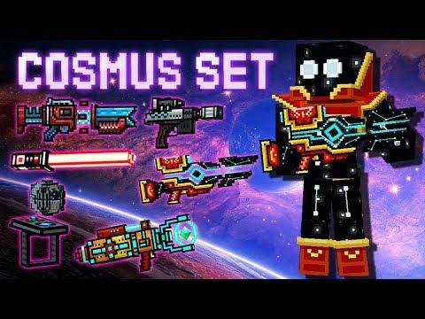 Cosmus Set - Pixel Gun 3D