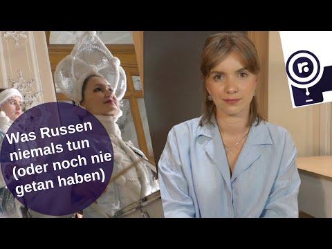Was Russen niemals tun (oder noch nie getan haben) [Video]