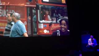 Thurston Moore And Irmin Schmidt Performance - Movie: Street (James Nares) - Exerpt 1
