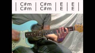 Foo Fighters, Saint Cecilia  - semi-advanced guitar w. chords