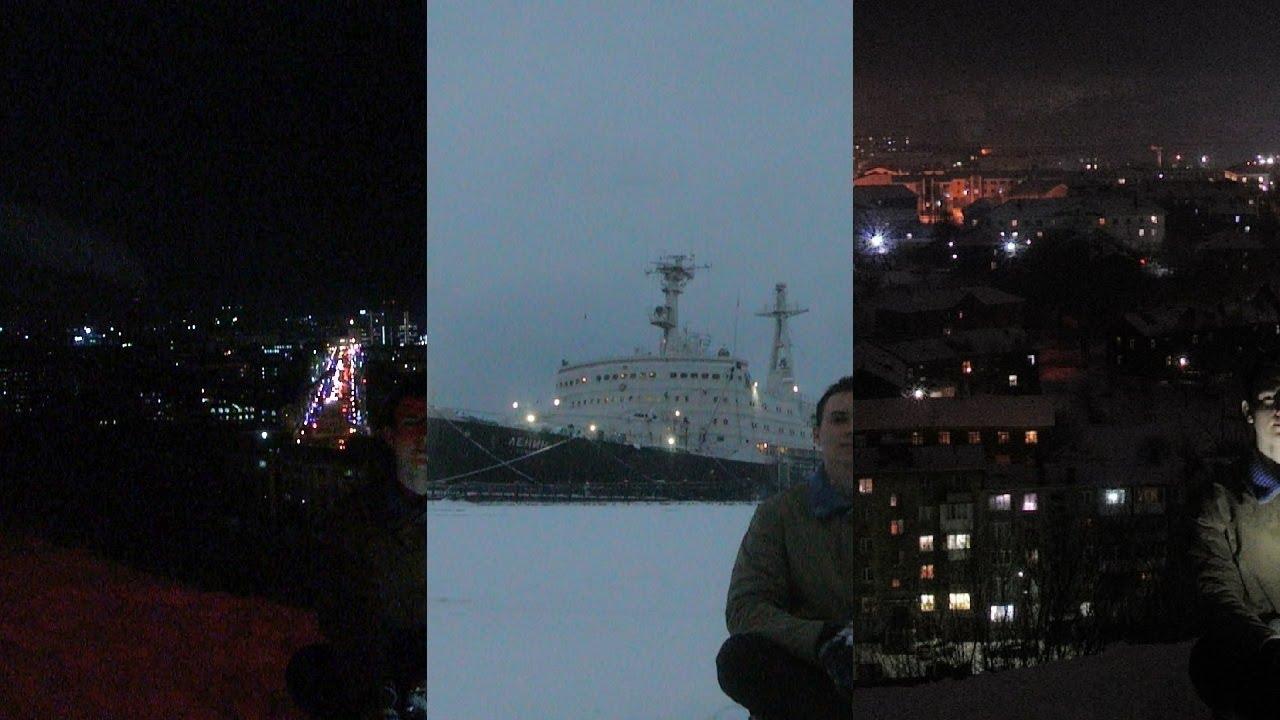 Как выглядит полярная ночь