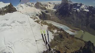 climb and fly in Patagonia