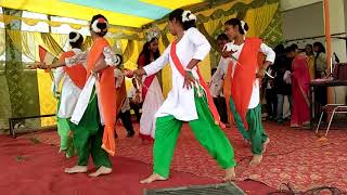 Dance On Patriotic Song VANDE MATARAM In The Occasion