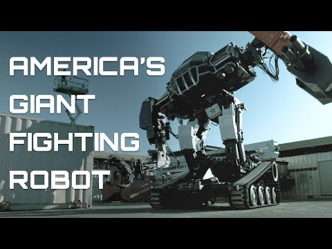 AMERICA'S GIANT FIGHTING ROBOT