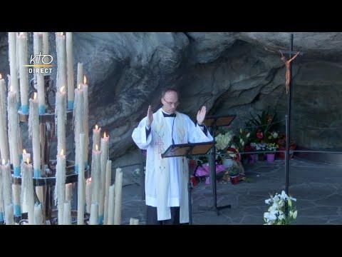 Chapelet du 3 septembre 2020 à Lourdes