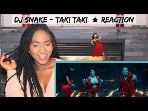 DJ Snake - Taki Taki ft. Selena Gomez, Ozuna, Cardi B | REACTION