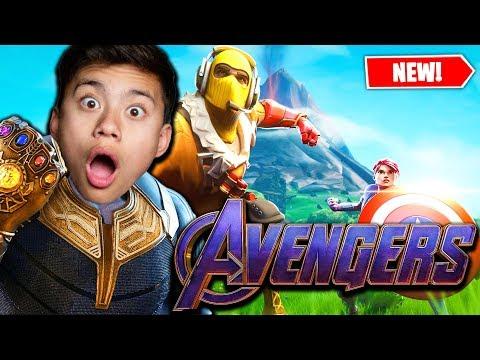 , title : 'THANOS RETURNS!!! Fortnite Avengers Endgame LTM!'