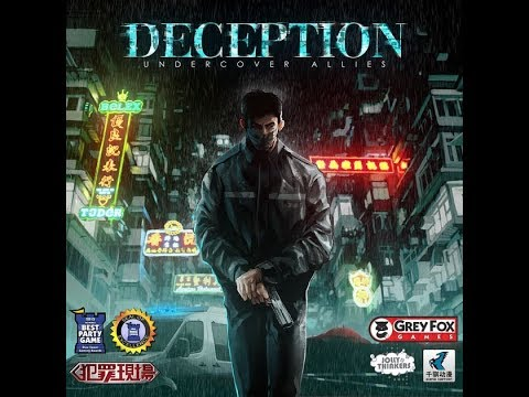 Deception: Undercover Allies Unboxing by The Boardgame Mechanics