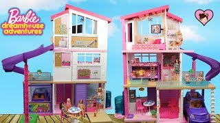 NEW Barbie Dreamhouse Adventures Dollhouse with Bunk Beds and Pool!