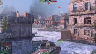 Wot Blitz: бой на мастера на Борще Rhm.-Borsig Waffentrager