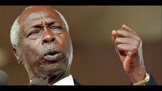 Former president Daniel Arap Moi is back after a successful medical trip in Israel