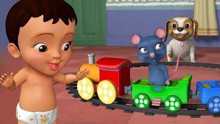 Chuku Chuku Railu - Train Song | Telugu Rhymes for Children | Infobells