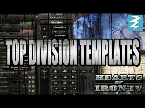 Top Division Templates - Hearts of Iron 4 (HOI4) - FeedBackGaming
