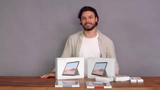 Microsoft Surface Go 2 Unboxing mit Zubehör!