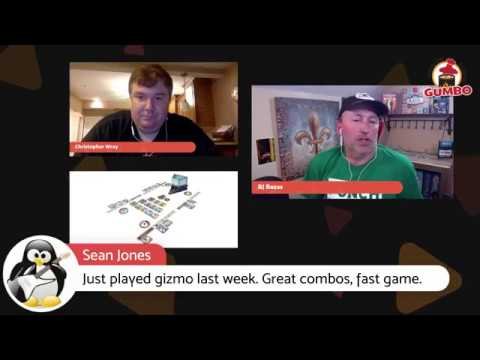 Gumbo Live! with Chris Wray talking Gizmos