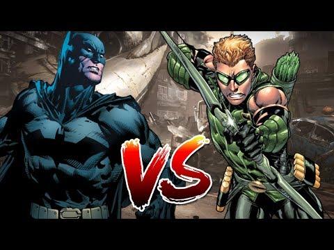 Batman VS Green Arrow