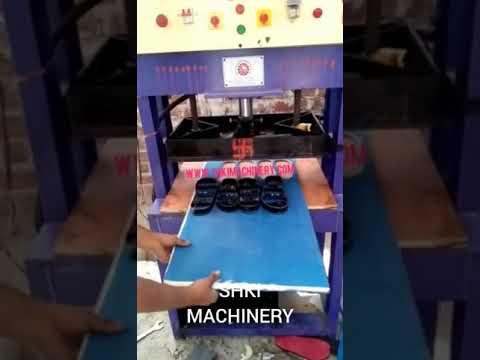 Hydraulic Chappal Making Machine