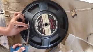 How fix Speaker Bass when Voice Coil broken | How to Change Voice Coil of Bass Speaker