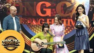 Jang Mi làm cả phim trường im bặt vì giọng hát và tiếng đàn   Tập 10   Nhạc Hội Song Ca