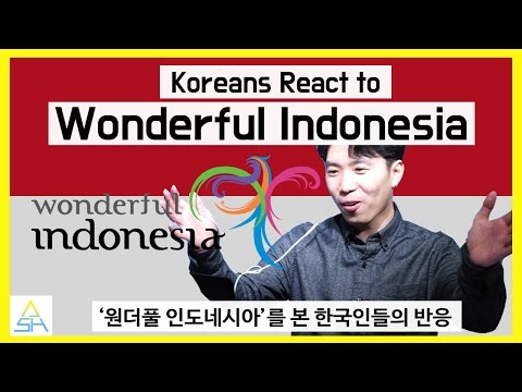 [INDO SUB] Koreans React to Wonderful Indonesia [ASHanguk]