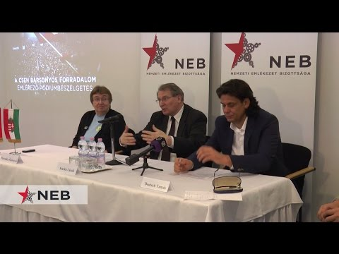 NEB videó: a cseh bársonyos forradalom- pódiumbeszélgetés