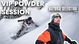 Travis Rices Jackson Hole Backcountry Powder Session   The Natural Selection Test Event