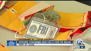 Man busted for drugs had fake FBI card, cops say