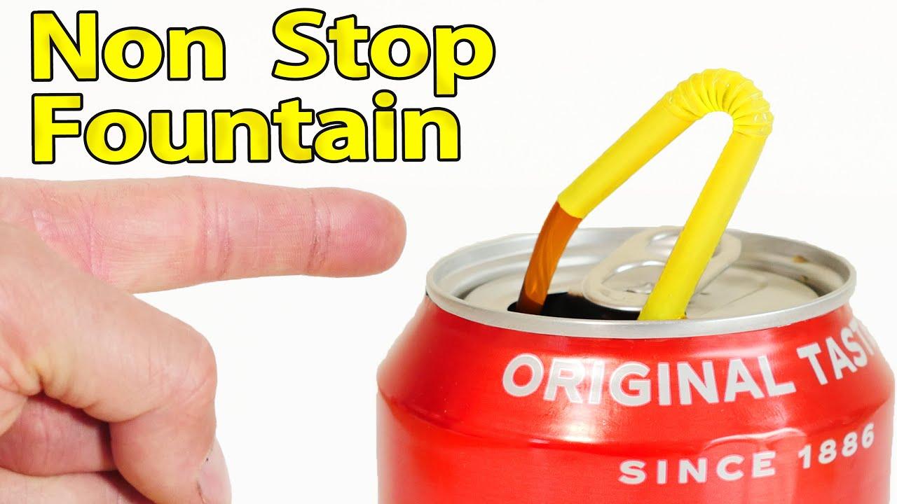 Coke Can Non Stop Fountain thumbnail