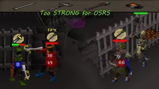 Osrs SMASHING lads with Thors Hammer and Pokey Pokey Sword (Statius  Vesta) - Tournament Worlds Nh