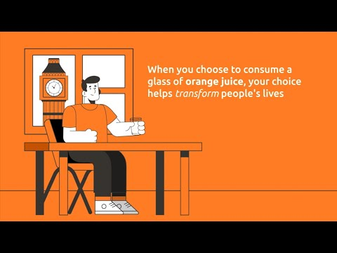 How orange juice generates income in cities