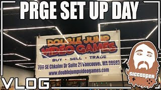 Portland Retro Gaming Expo Set Up Day (Pick Ups & FUN!) | SicCooper