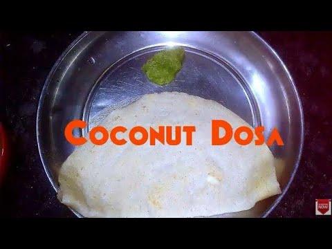 Coconut Dosa(కొబ్బరి దోశ) Healthy Recipe | By Aarogyamastu Telugu Videos