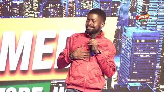 Alex Muhangi Comedy Store Sept 2019   Basketmouth In Uganda