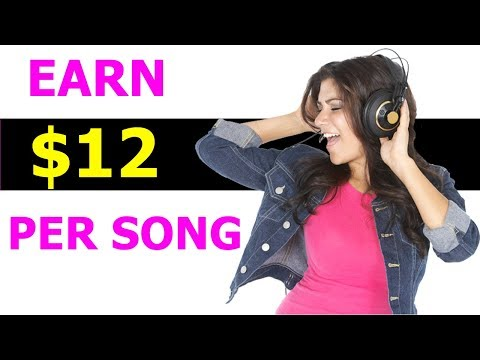 Earn $12 Per Hour Listening Song | How To Make Money In Home Without Investment