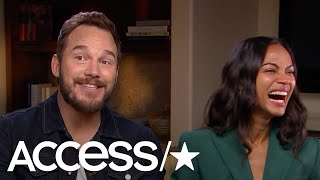 'Avengers: Infinity War's' Chris Pratt Would Rather Talk About Bass Fishing Than His Divorce - Video Youtube