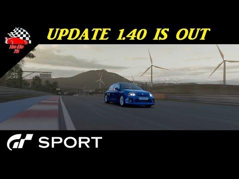 GT Sport Update 1.40 Full Details