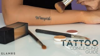 How To Cover And Conceal Tattoos | Quick And Detailed Makeup Routine