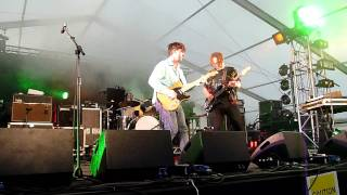 Young Knives at Hop Farm - Weekends and Bleak Days