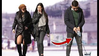 Peeing in Public Prank! | AWESOME REACTIONS
