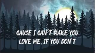 Shane Filan - I can't make you love me (lyrics) -HD