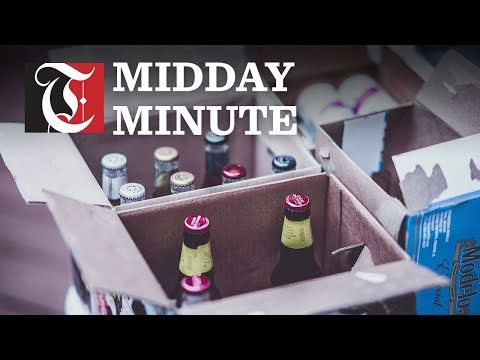 Midday Minute:Excise tax slashed for alcohol