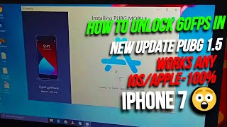 How to unlock 60FPS in New Update Pubg 1.5 | Works Any iOS/APPLE-100% | No Reset | No Ban | Lag Free