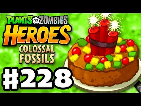 Exploding Fruitcake! - Plants vs. Zombies: Heroes - Gameplay Walkthrough Part 228