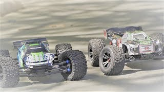 Traxxas E-REVO 2.0 & Arrma KRATON BLX Comparison - 6S RC Monster Trucks
