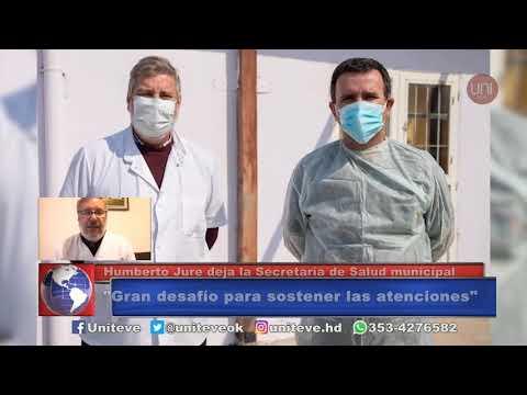 Jure renunció a la Secretaría de Salud