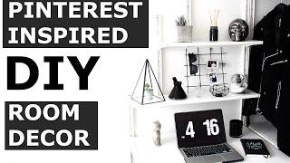DIY Pinterest Room Decor | Minimal, Affordable, Quick, Easy | Gallucks
