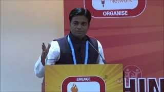 Hindu Youth Conference @WHC 2014_Aniket Kale