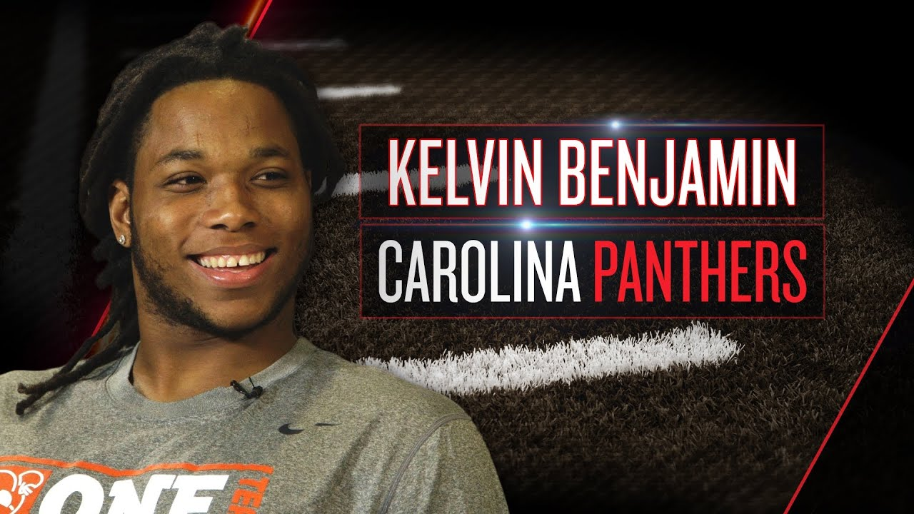 Kelvin Benjamin on Panthers role, Cam Newton, moving to Charlotte (2014 NFLPA Rookie Premiere) thumbnail